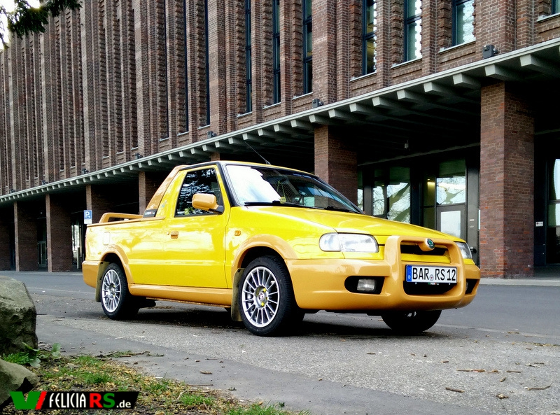 Škoda Felicia FUN mit Sommerreifen