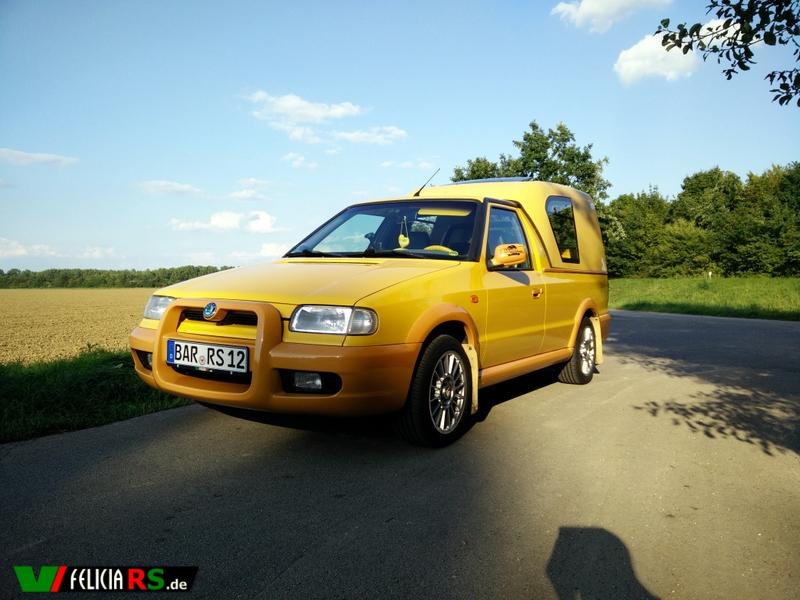 Škoda Felicia FUN mit Airdesign Hardtop FUN N