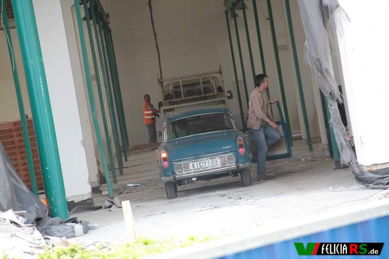 Mal sehen ob der nächstes Jahr im Museum zu sehen ist ;-) Škoda 1000MB