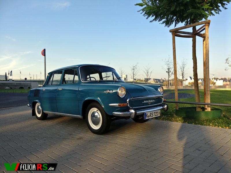 Škoda 1000MB deluxe gebaut am 21.11.1967