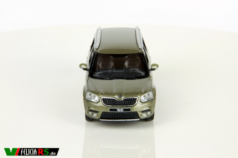 Skoda Yeti City Facelift 1:43 Jungle Green