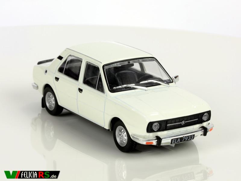 Škoda 105S De Agostini/ Ist Model 1:43