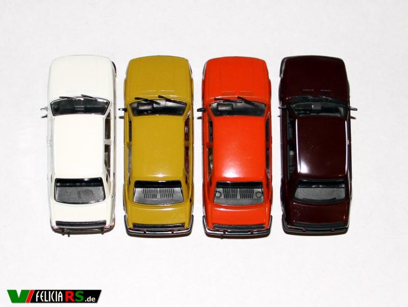 Škoda 105S De Agostini/IST, 120LS + 120L De Agostini/IST, 120L Abrex