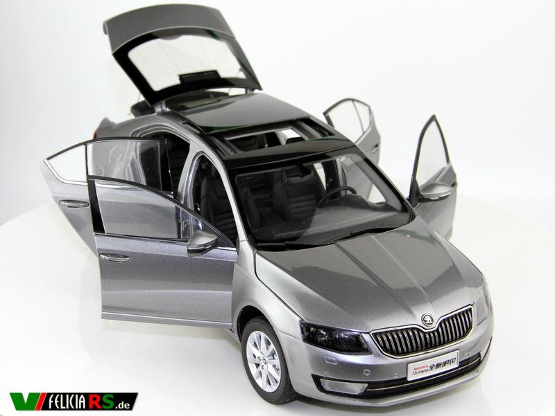 Škoda Octavia 3 1:18 Paudi Model