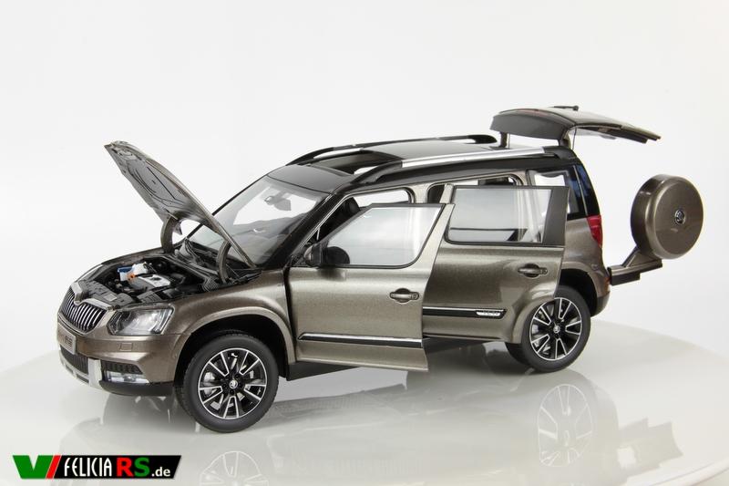 Škoda Yeti Chinesische Version 1:18